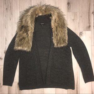 Lane Bryant Fur Cardigan